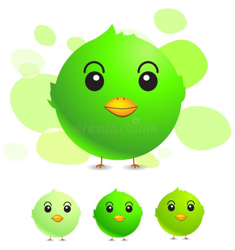 Green Bird Royalty Free Stock Photography