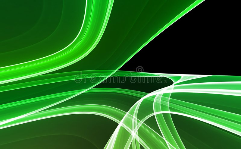 Download Green & Black Abstract Background Stock Illustration - Image: 5469475