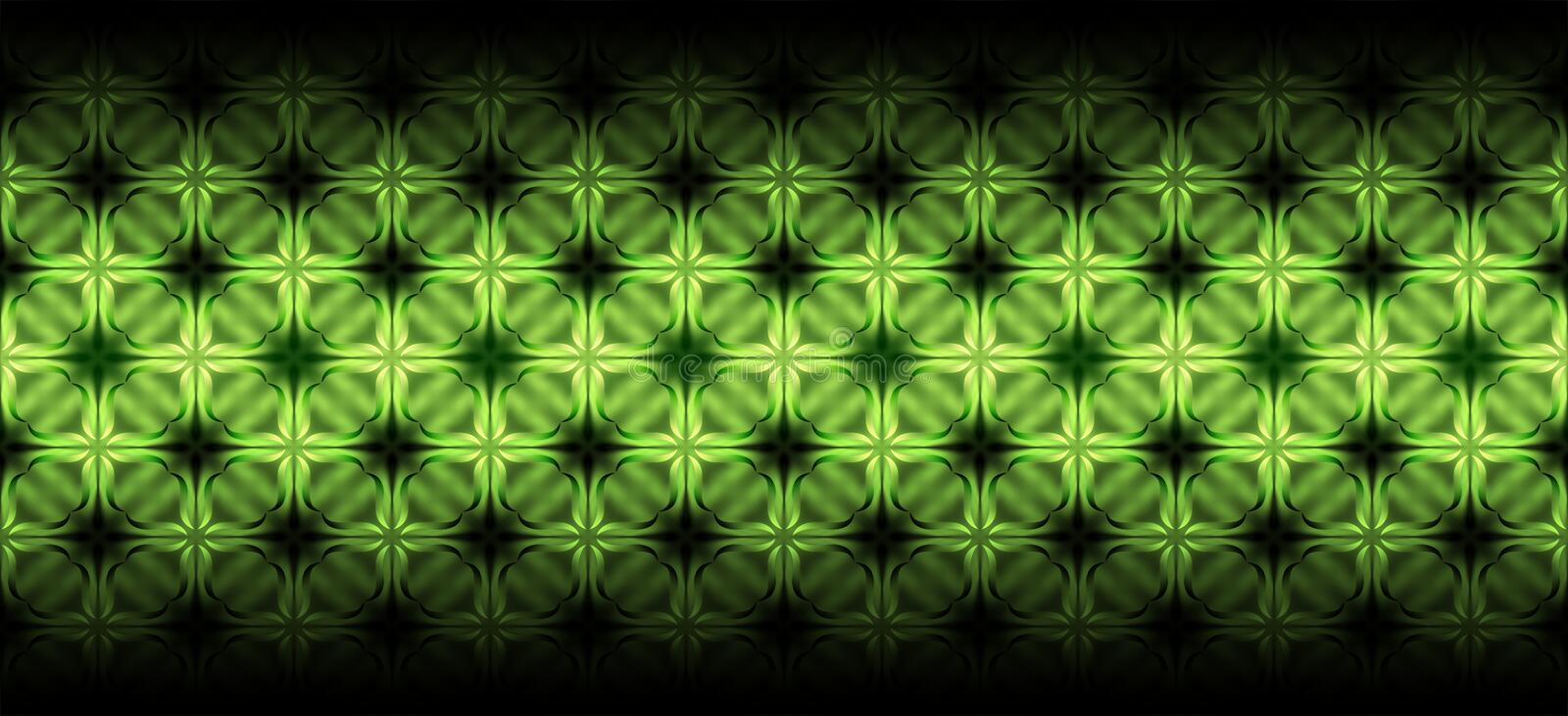 Green and black abstract pattern background vector design royalty free illustration