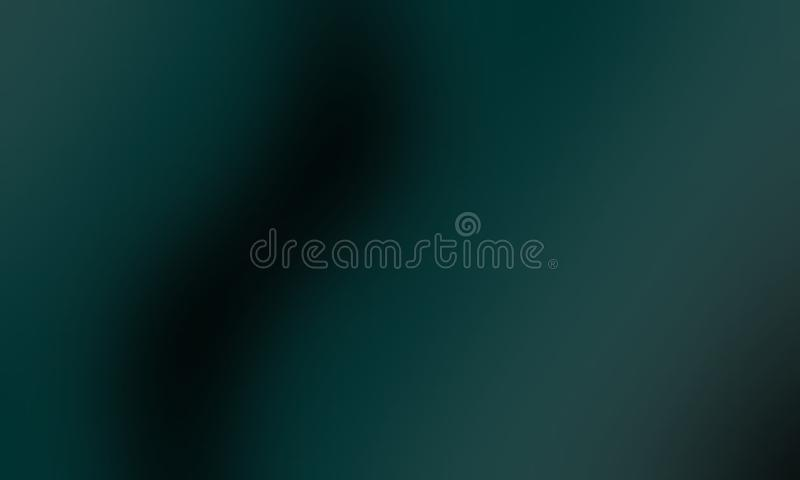 Green and black blur abstract shaded background, vector illustration. royalty free illustration