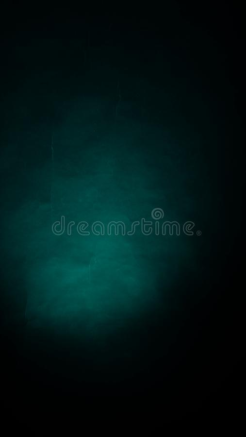 Green black crumpled paper abstract blur background royalty free stock photography