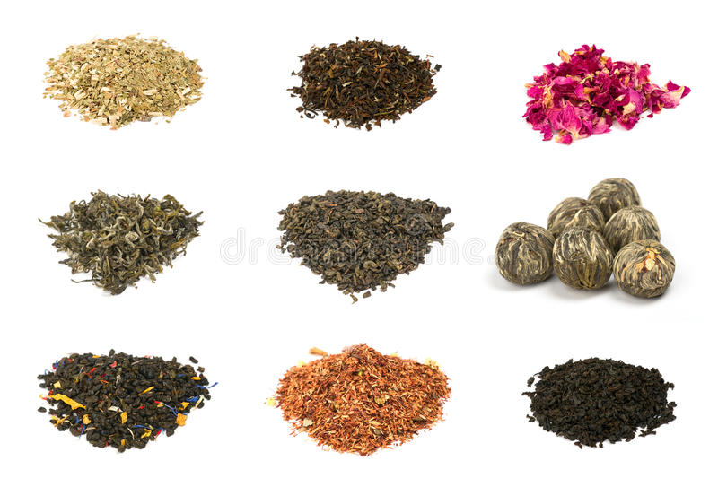 Download Green, Black, Floral And Herbal Tea Stock Photo - Image: 14326080