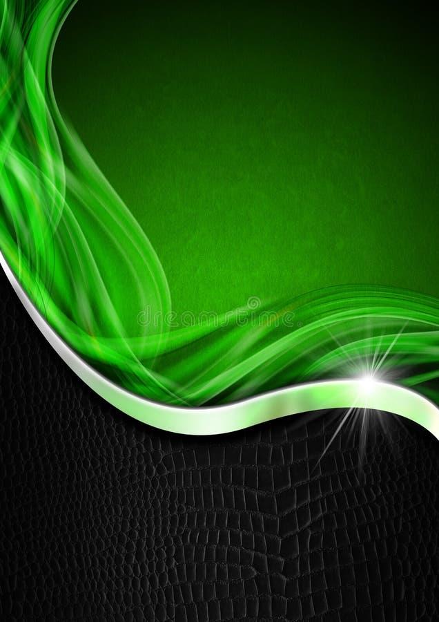 Download Green Black And Metal Business Background Stock Illustration - Image: 34600658