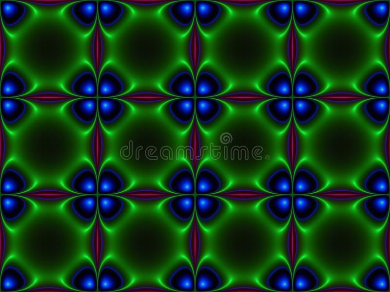 Download Green Blue Abstract Textures Stock Illustration - Image: 14839949