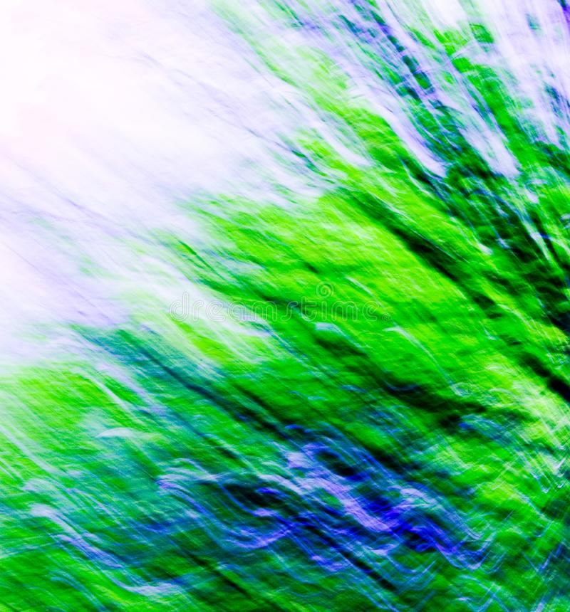 Green / Blue Blend Abstract 10
