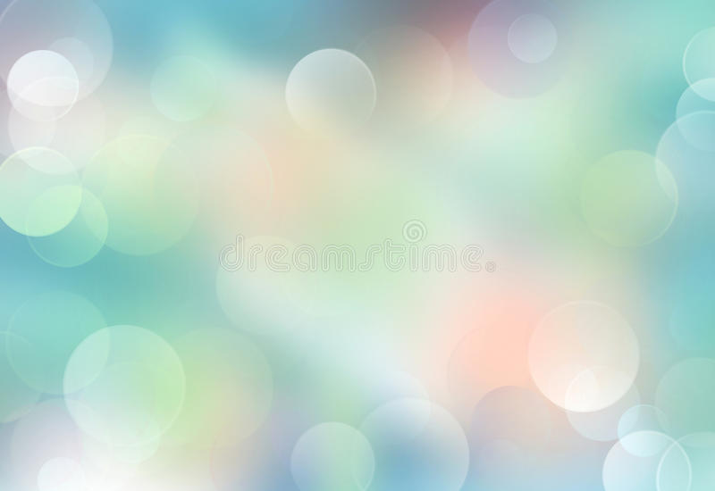 Green blue blurred abstract background. Green blue blurred background.Abstract soft colors illustration.Nature bokeh wallpaper stock illustration