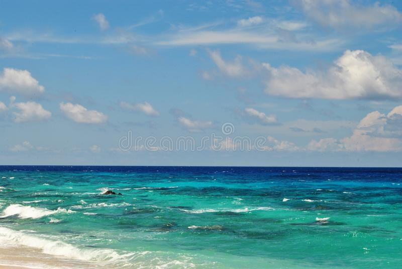 Gradation of The Sea Water royalty free stock photos