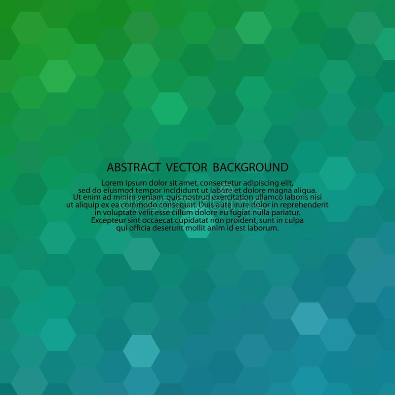 Green blue gradient glitter background. Vector abstract illustration royalty free illustration