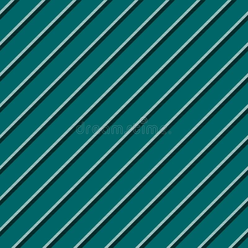 Green blue striped seamless background royalty free illustration