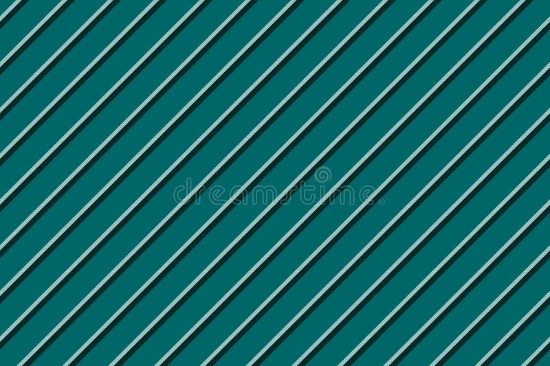 Green blue striped seamless background stock illustration