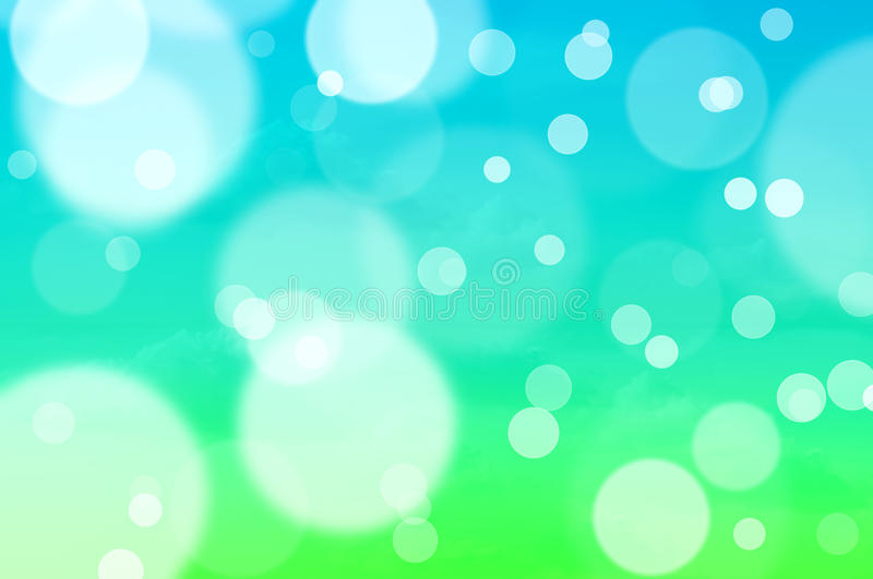 Green and blue summer background royalty free stock photos
