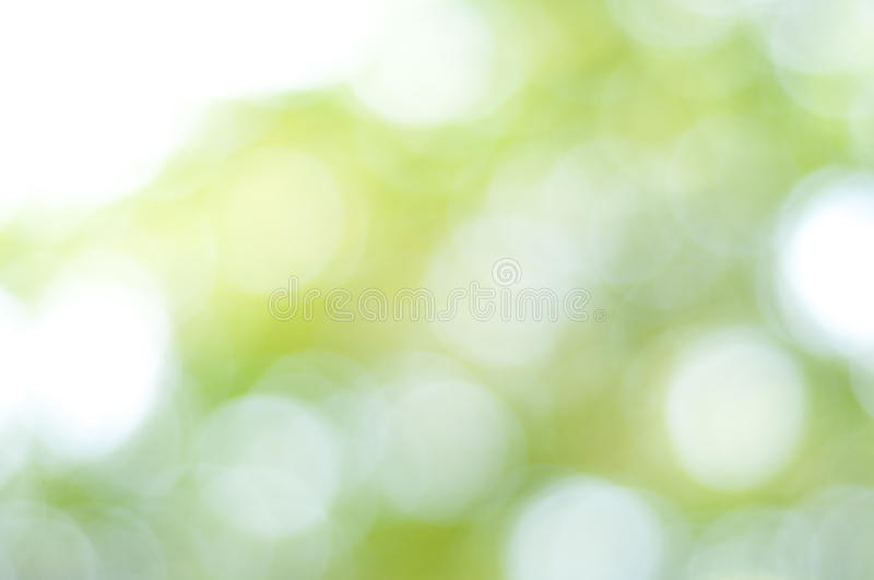Green and blue summer bokeh for background. Bokeh is often most visible around small background highlights, such as specular reflections and light sources, which royalty free stock photography