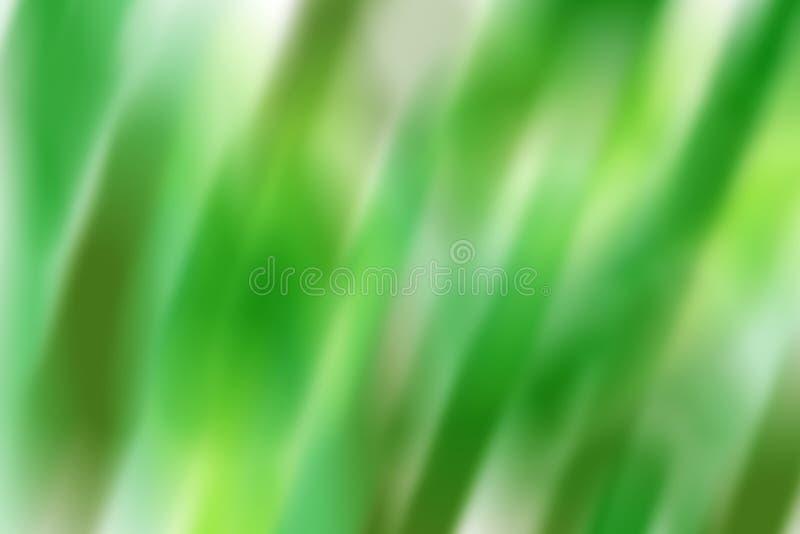 Green blur vector illustration
