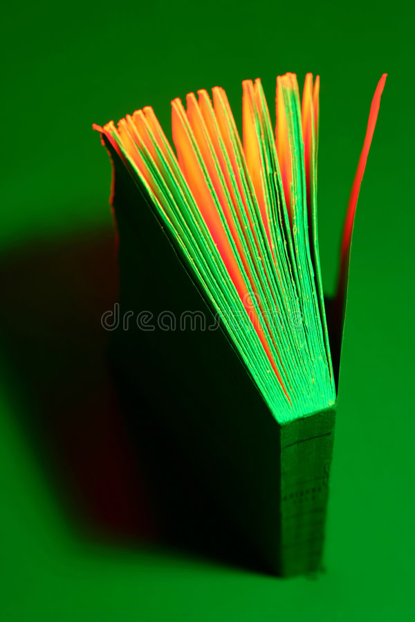 Green Book royalty free stock photo