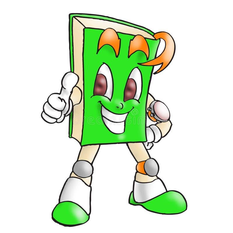 Green book stock illustration