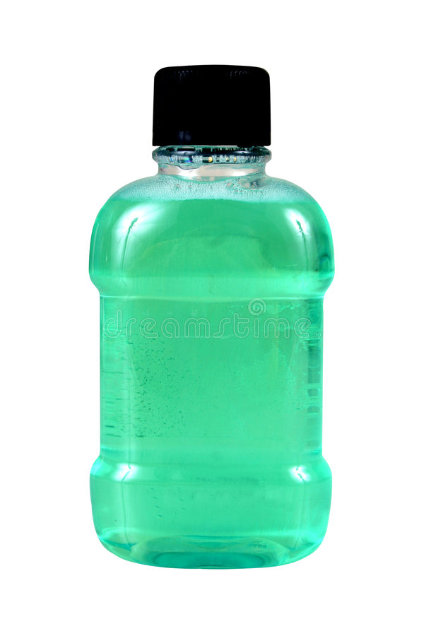 Green bottle stock photos