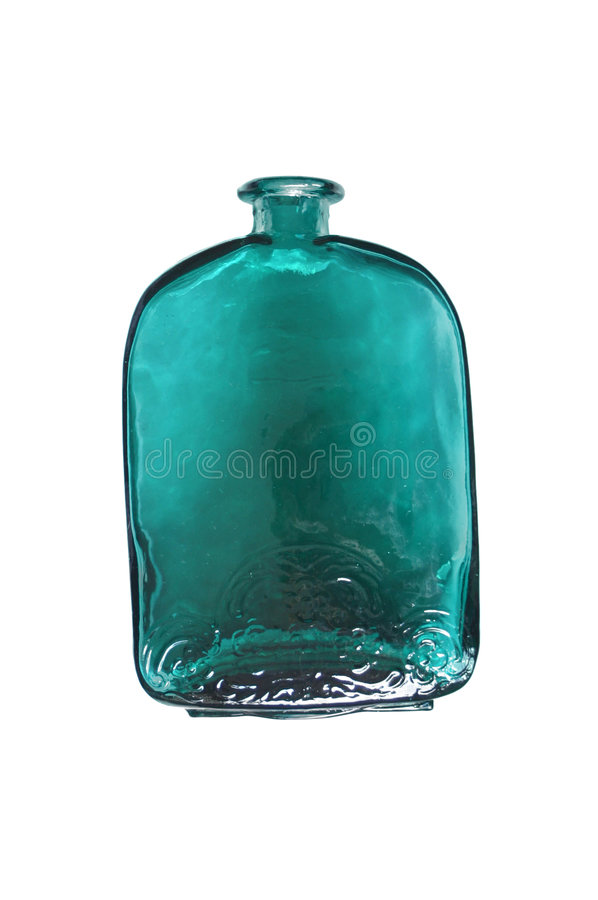 Green Bottle stock photography