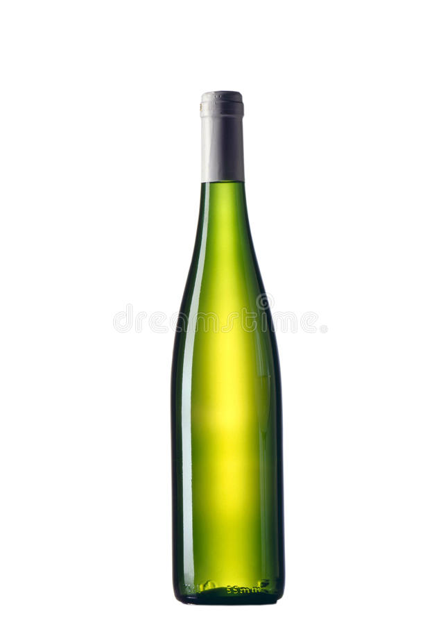 Free Green Bottle And White Background Royalty Free Stock Images - 16767889