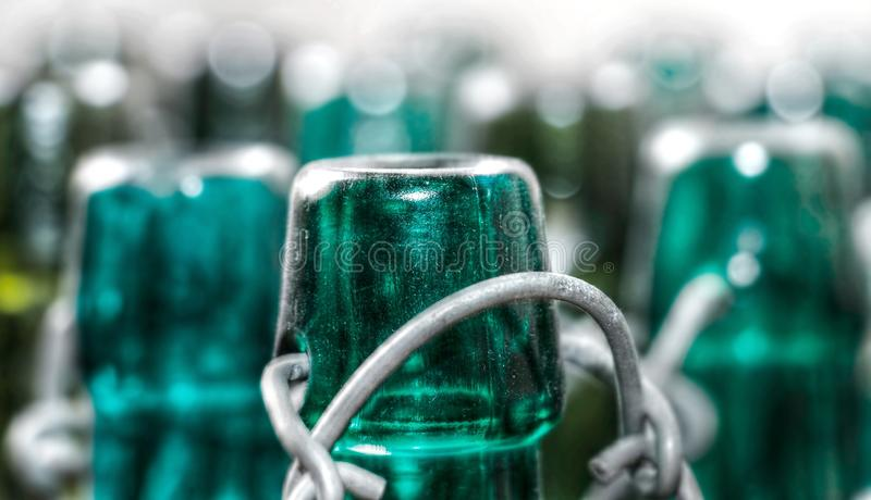 Green, Bottle, Glass Bottle, Water stock photography