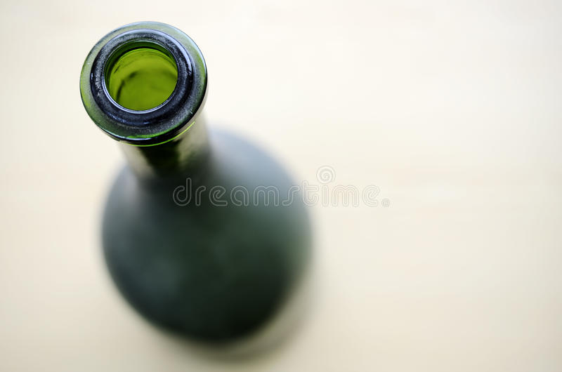 A Green Bottleneck With Room For Text Stock Photo