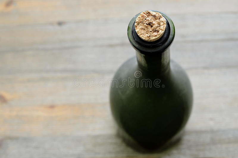Download A Green Bottleneck, Top View Stock Photo - Image of restaurant, plug: 38863992