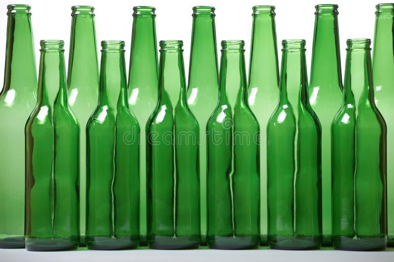 Download Green bottles stock image. Image of close, background - 3316517