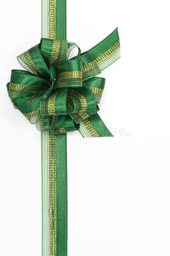 Free Green Bow Royalty Free Stock Image - 3311866