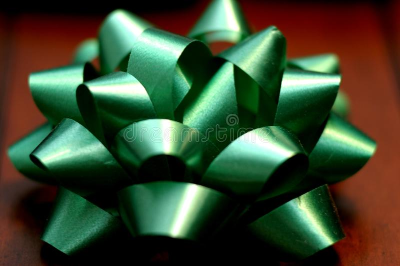 Download Green Bow stock photo. Image of gift, christmas, garnish - 56772