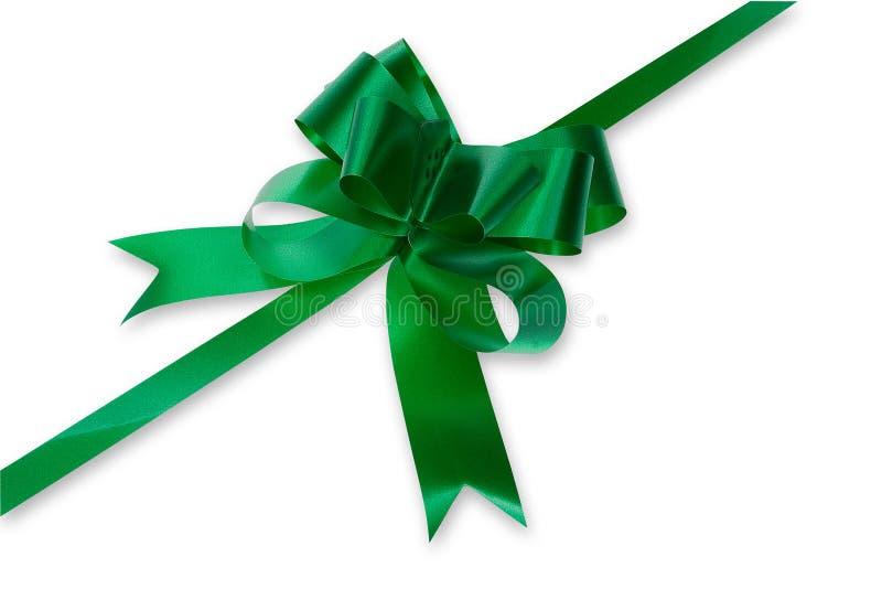 Green Bow stock photos