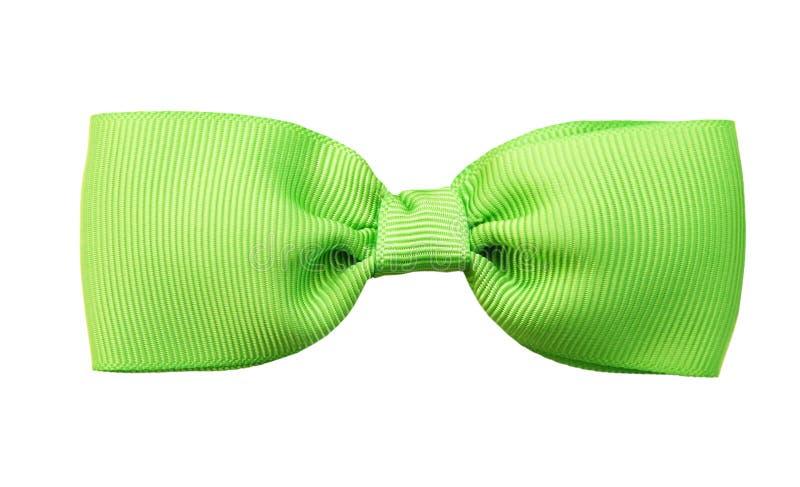 Green bow tie royalty free stock photos