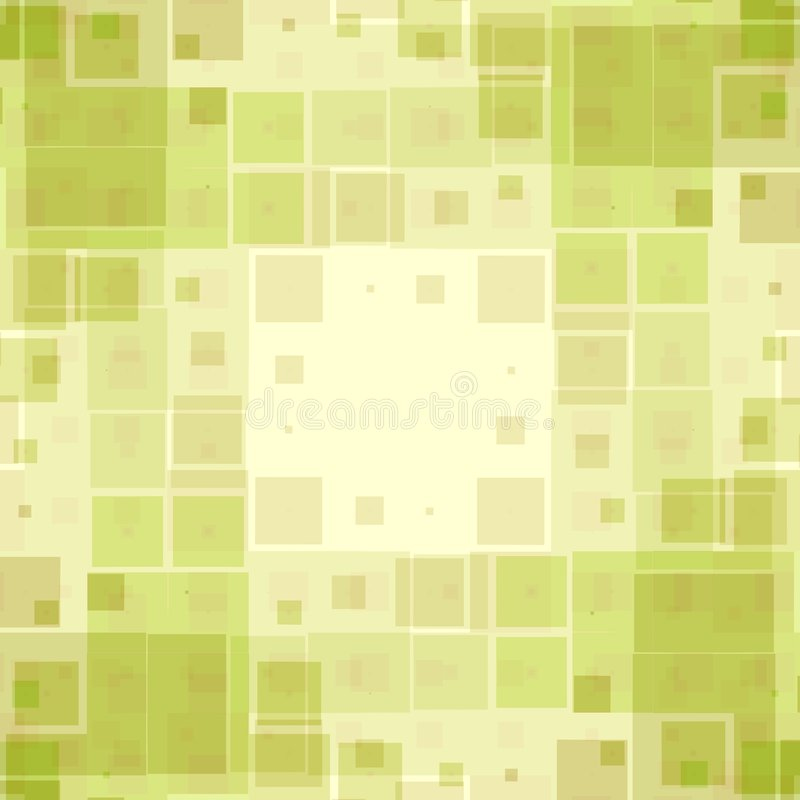 Green Boxes Texture Pattern royalty free illustration