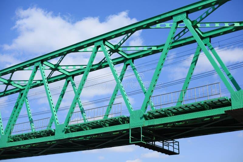 Green Bridge to Future royalty free stock images