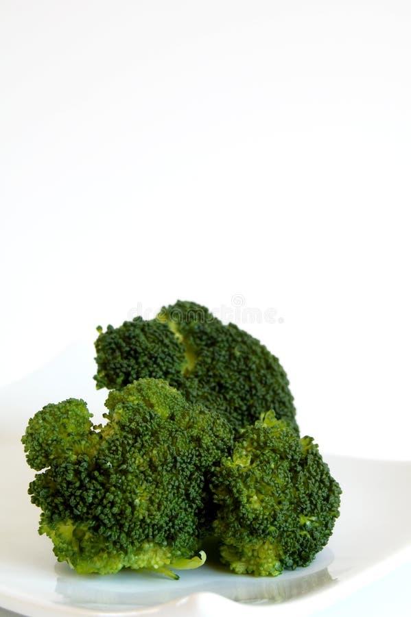 Green broccoli stock image