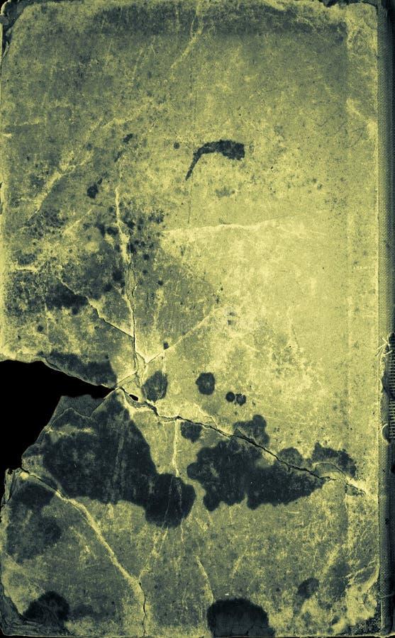 Green broken book cover stock photos