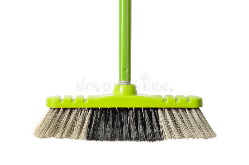 Download Green Broom stock photo. Image of cleaning, clean, domestic - 29222404