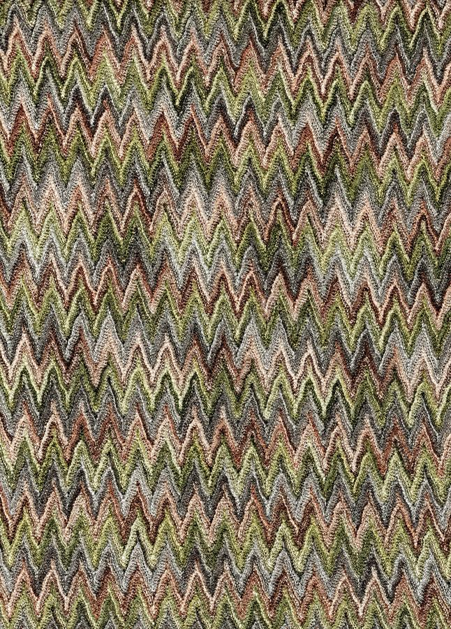 Green And Brown Zigzag Fabric Stock Image - Image of used, green ...