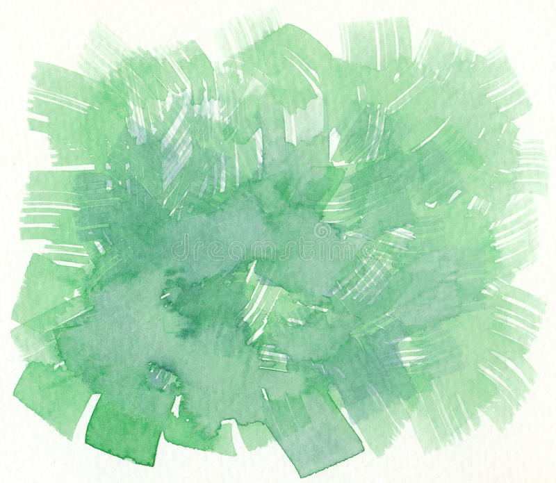 Download Green Brush Stroke Textures Background Stock Illustration