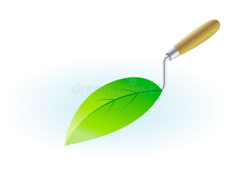 Green building stock illustration