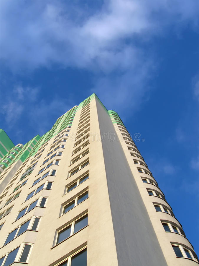 Download Green Building, Blue Sky, Business Success Stock Image - Image: 13410747