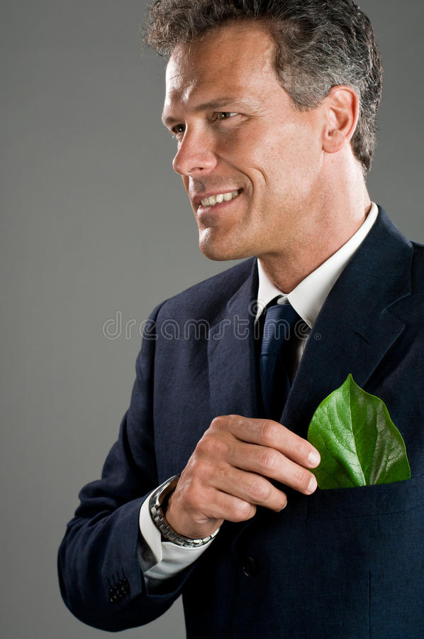 Green Business Stock Photo