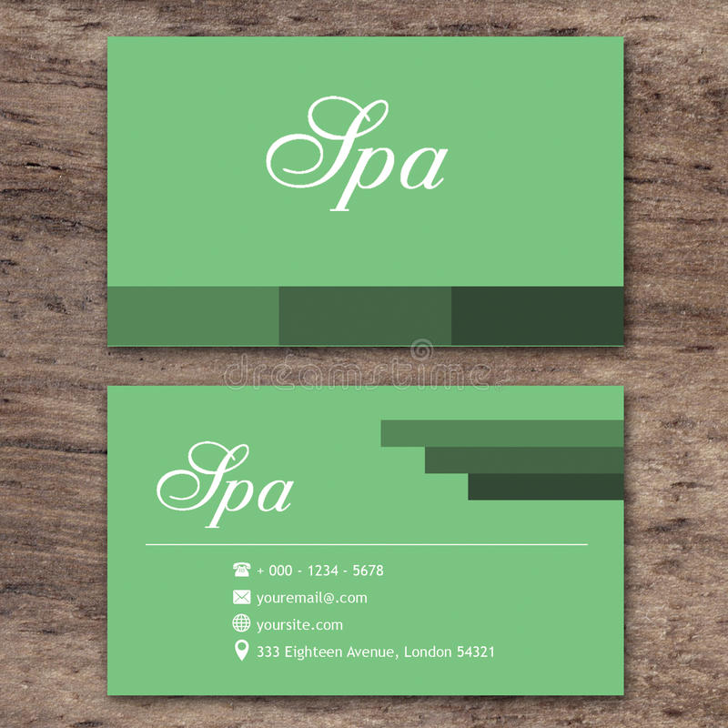 Green business card stock illustration illustration of business download green business card stock illustration illustration of business 64360680 reheart Images