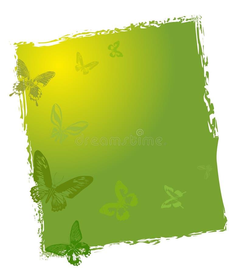 Free Green Butterflies Background Design Stock Photography - 20027172