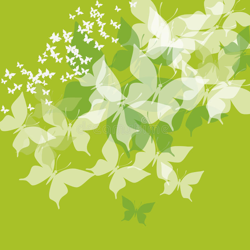 Download Green butterfly stock vector. Illustration of white, simple - 23322466