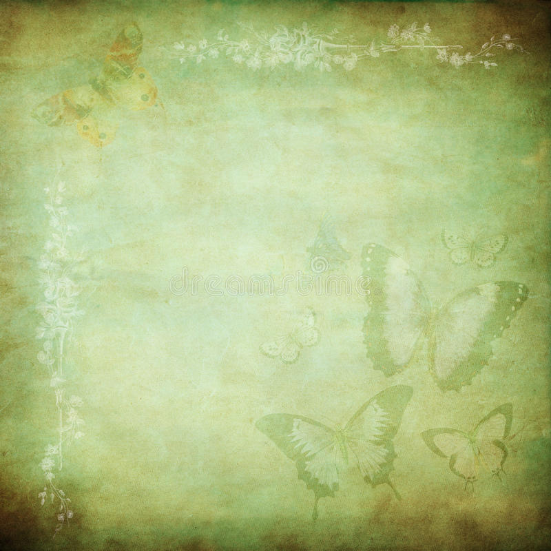 Download Green Butterfly Haze Royalty Free Stock Photo - Image: 10173185