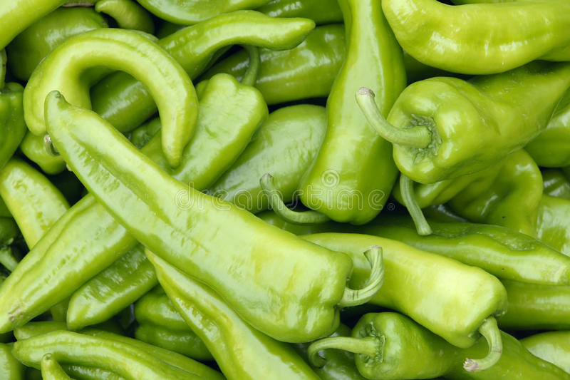 Green capsicum. The background of green capsicum royalty free stock photography
