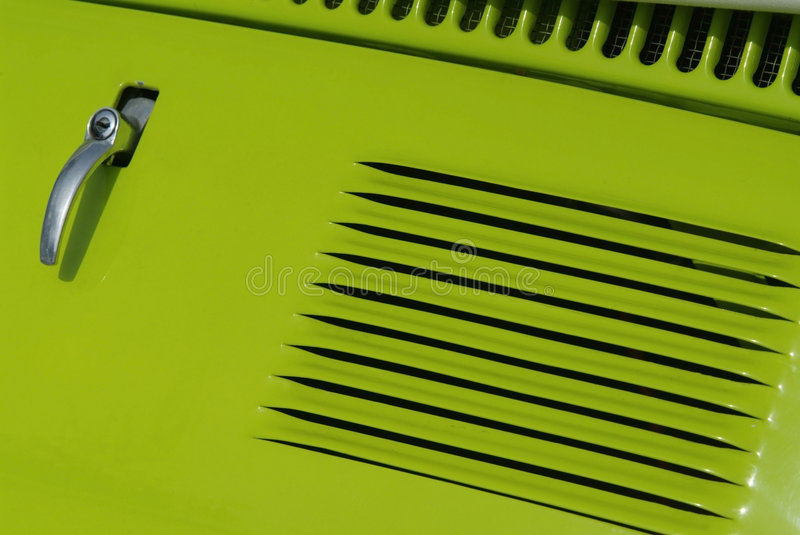 Green car abstract stock images