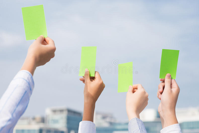 Green card royalty free stock image