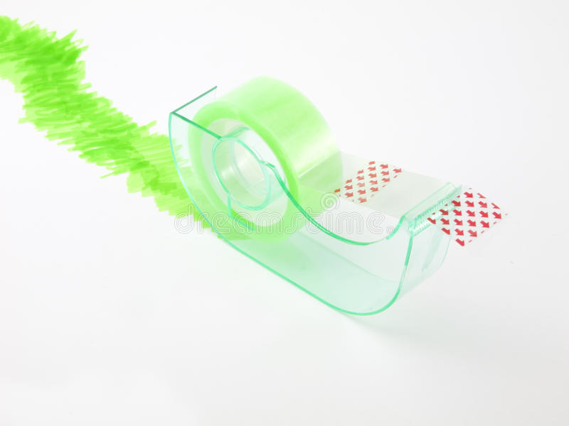 Download Green cellophane dispenser stock image. Image of white - 28941519