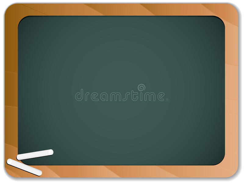 Download Green Chalk Blackboard stock vector. Image of concept - 18202696