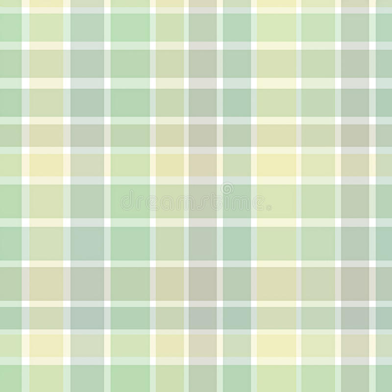 Green checkered background stock illustration
